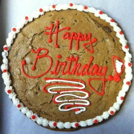 Boulder Baked Happy Birthday Cookie Cake