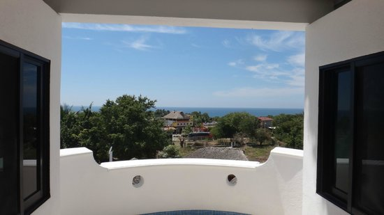 Villa Lili: view from the suite