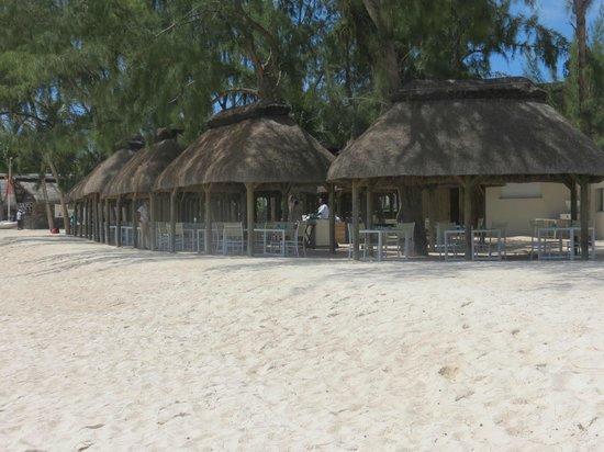 Ambre Resort - All Inclusive : Restaurant de la PLAGE