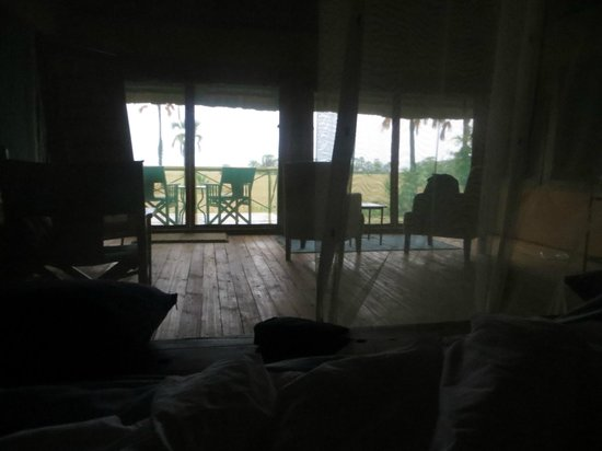 Maramboi Tented Camp: morning view