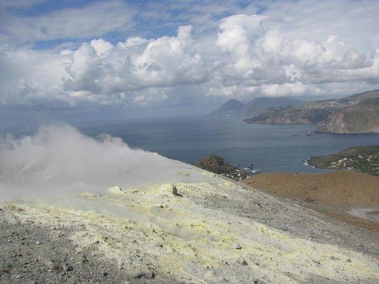 Casa Schmidt : Blick vom Kraterrand