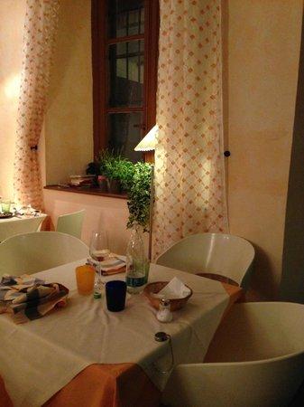 Osteria da Rosolo: i tavoli
