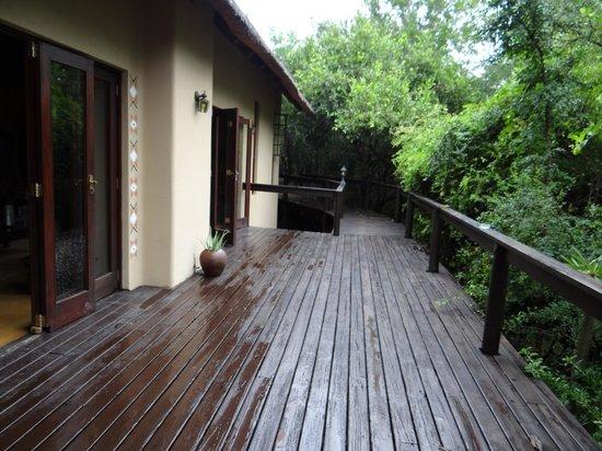 Elephant Plains Game Lodge: pathway