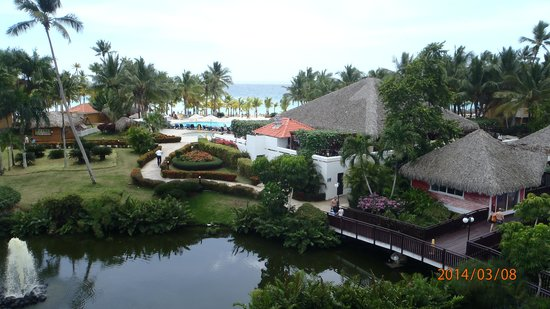 Viva Wyndham Dominicus Palace : Over view with ocean