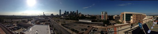 NYLO Dallas South Side: View from rooftop