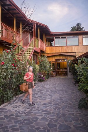 Camino Verde Bed & Breakfast Monteverde: Our room was on the second floor.