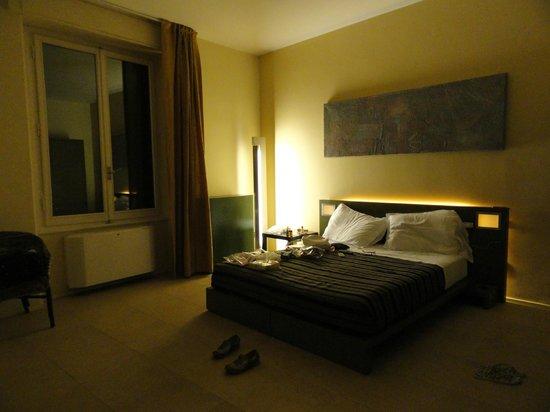 Residenza Castelli: Vista de la habitacion que nos toco