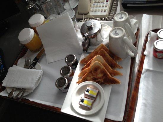 Park Plaza Nottingham: Room Service Breakfast