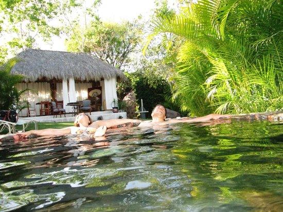 La Vita Bella Hotel Holistico: Agusto en las terma