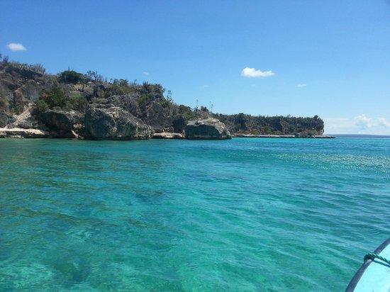 Bahia de las Aguilas: Desde el mar
