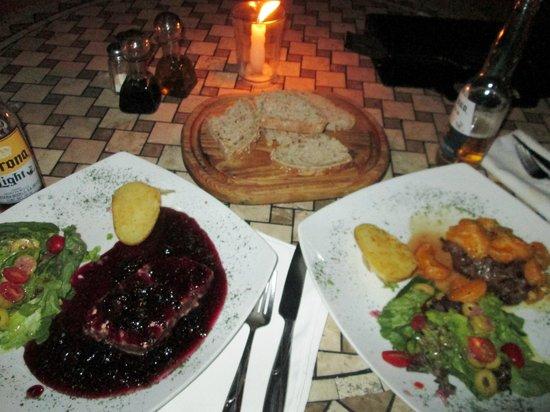 La Vita Bella Hotel Holistico: delicioso menu