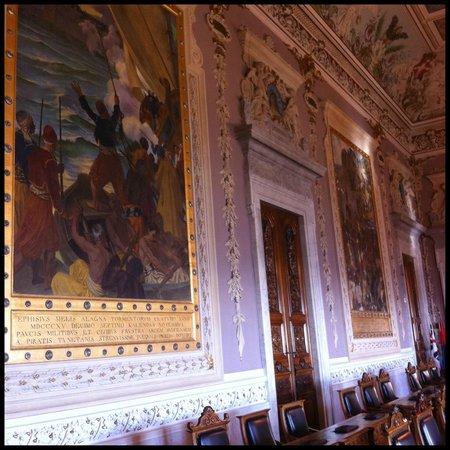 The Royal Palace : Diversas obras no interior do Palácio.