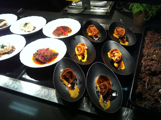 Cramim Resort & Spa by Isrotel Exclusive Collection : chef-style appetizers