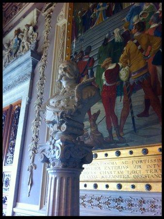 The Royal Palace: Inteiror do Palácio.
