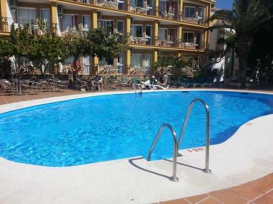 Hotel Villa Flamenca: partie extérieur