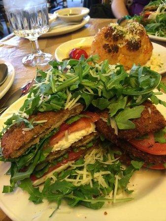 Rosebud on Rush: Eggplant Salad