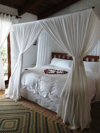 La Vita Bella Hotel Holistico: Decoracion Romantica
