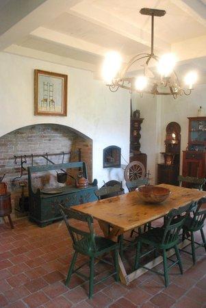 Evergreen Plantation: la cucina sala da pranzo