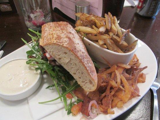 Rhubarb Wellington Place: Pork Sarnie @ Rhubarb