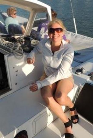 Thunderbird Sailing day trips: Happy me!