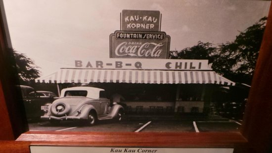 US Army Museum of Hawaii : Kau Kau Corner early days