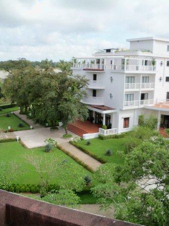La Residence Hue Hotel & Spa: View from room's balcony