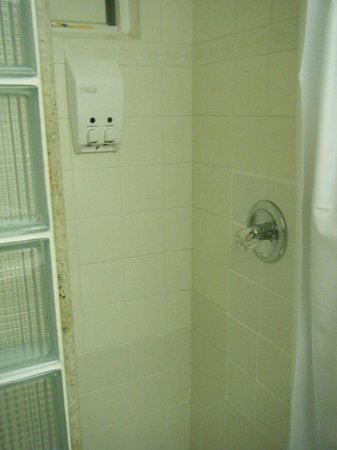 Bay Gardens Hotel: Shower