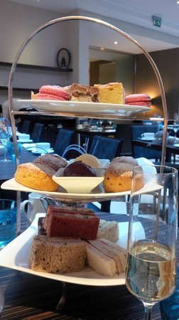 The Montcalm London Marble Arch: High Tea - cakes, sandwiches and scones