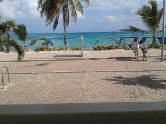 Hotel Bahia Sardina: Desde mi balcon