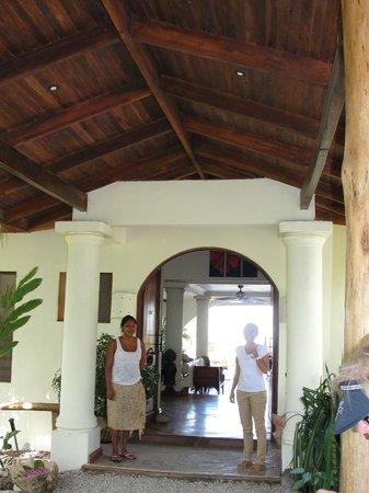 Los Altos de Eros: entrance