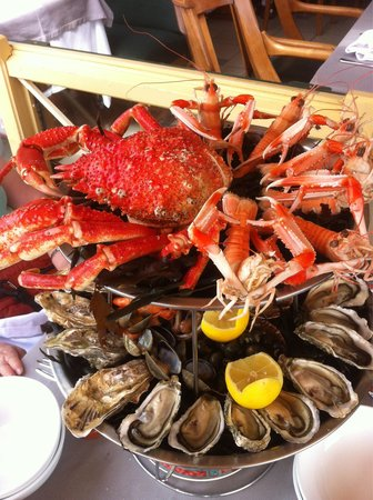 L'Ormeau : Wonderful Sea food