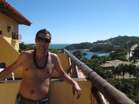 Rio Buzios Beach Hotel : habitaciones con vista al mar