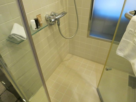 Mitsui Garden Hotel Ginza Premier : シャワーと浴槽が独立しており、快適です。