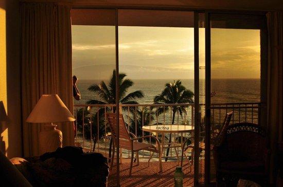 Royal Kahana: sunset from room