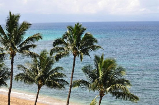 Royal Kahana: view of the ocean from our room