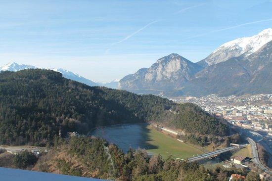 Bergisel Sprungschanze: vista dalla terrazza