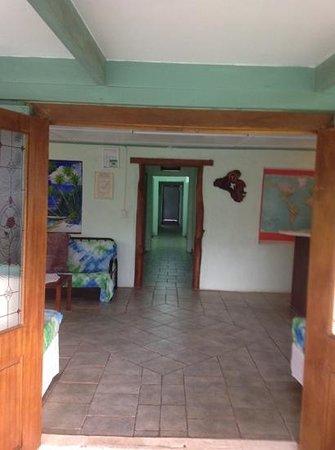 Amuri Guesthouse : Front door