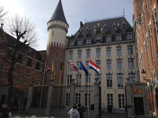 Hotel Dukes' Palace Bruges : Edifício