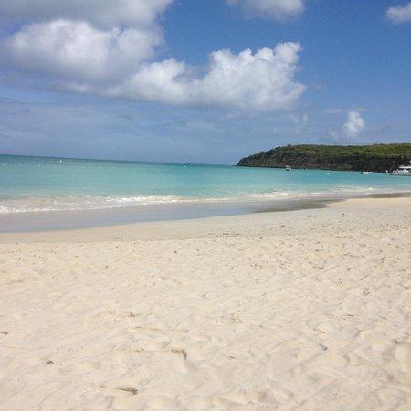Sandals Grande Antigua Resort & Spa : Beautiful beach