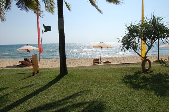 Chen Sea Resort & Spa Phu Quoc: The view from our hut