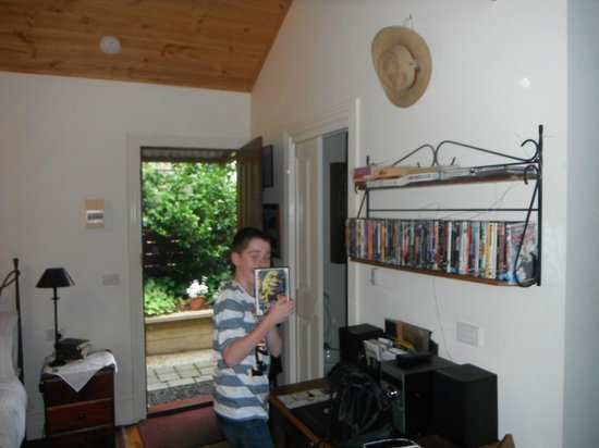 Stone's Throw Cottage B&B : DVD selection - something for everyone