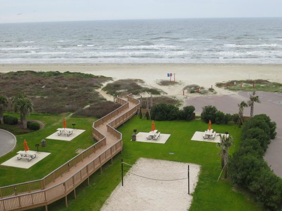 Holiday Inn Club Vacations Galveston Beach Resort: amazing view