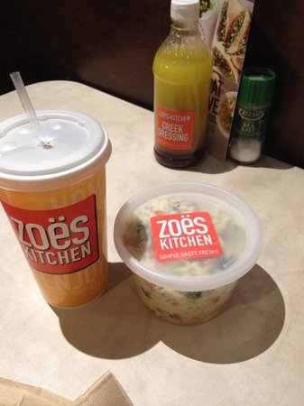 Zo S Kitchen Chicken Orzo orzo tabouli pint to-go - picture of zoes kitchen, atlanta