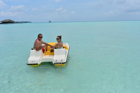 Taj Exotica Resort & Spa: Plenty of water sports available, with very good equiptment.