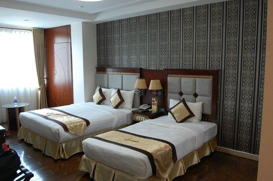 Signature Saigon Hotel : Beds