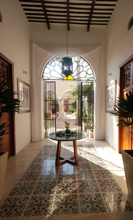 Koox Casa de las Palomas Boutique Hotel: Foyer