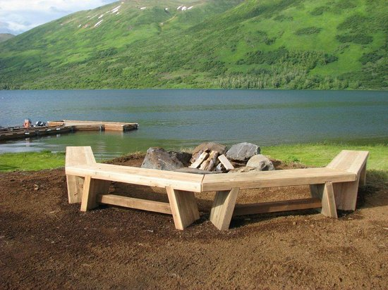 Kodiak Brown Bear Center : Fire pit
