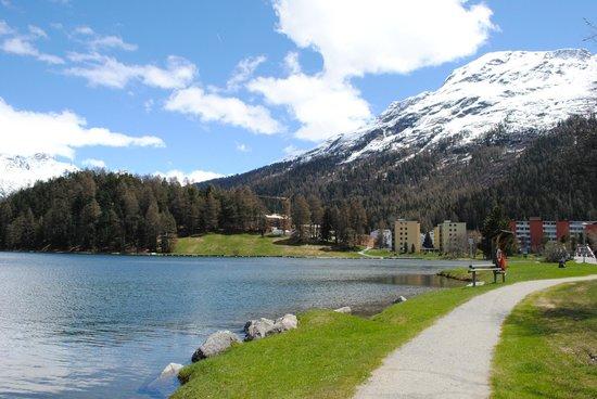 Engadine: Lago de St Moritz
