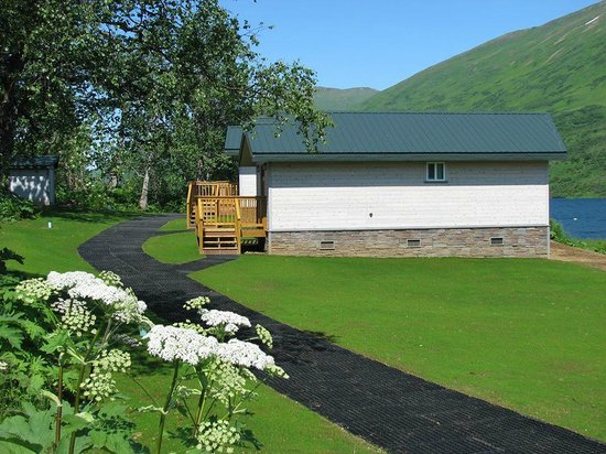 Kodiak Brown Bear Center : Walkway