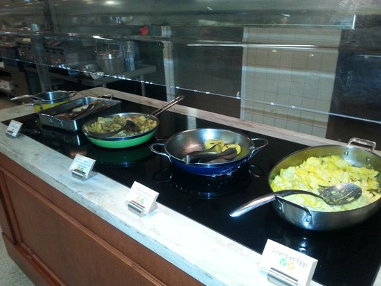 Bolger Center: From the breakfast buffet at Osgoods